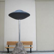 UFO och ekorre i Landskrona